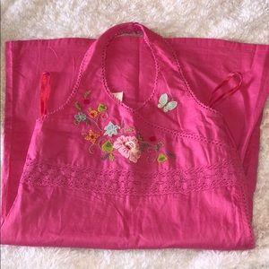 NWT Gap Kids Pink Halter Dress